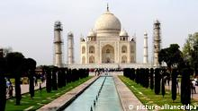 Kate und William in Indien Taj Mahal