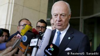 Staffan de Mistura in Syrien Damaskus
