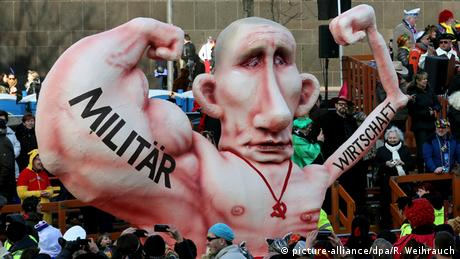 Putinator, depicting Vladimir Putin during a Carnival parade in 2015, Copyright: picture-alliance/ dpa /R. Weihrauch
