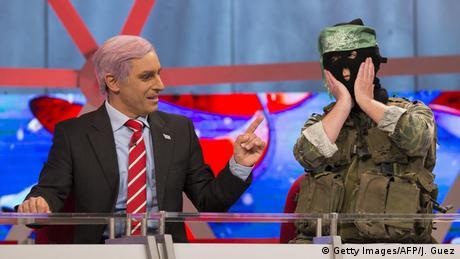Israeli satirical show Eretz Nehederet paraodies Netanyahu, Copyright: Getty Images / AFP / J. Guez