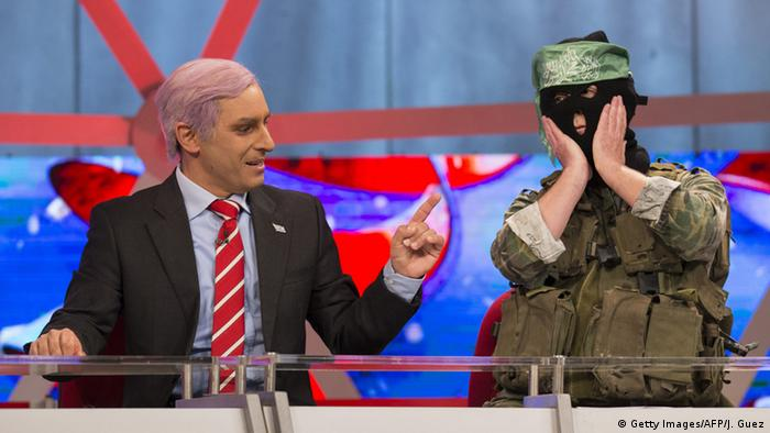 Israeli satirical show Eretz Nehederet paraodies Netanyahu, Copyright: Getty Images / AFP / J. Guez