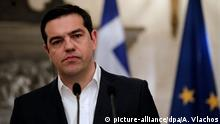 Griechenland Premierminister Alexis Tsipras