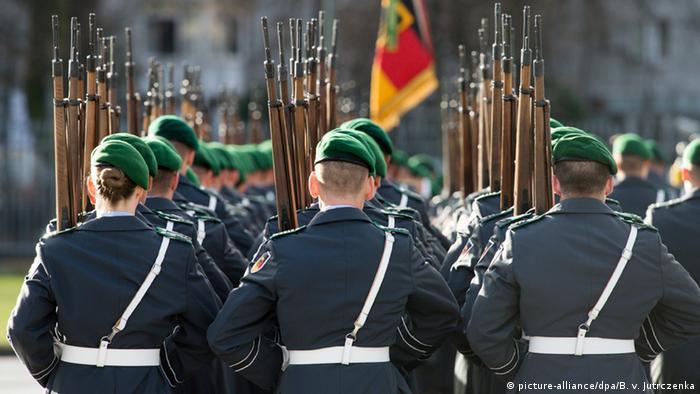 Deutschland Bundeswehrsoldaten