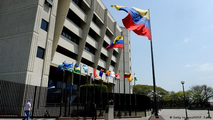 Sede do Supremo Tribunal de Justiça da Venezuela, em Caracas