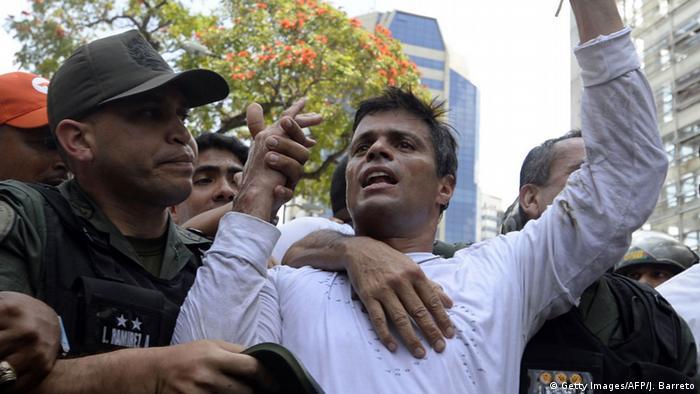 Venezuela Leopoldo Lopez (Getty Images/AFP/J. Barreto)