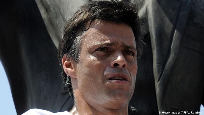 Venezuela Leopoldo Lopez (Getty Images/AFP/L. Ramirez)