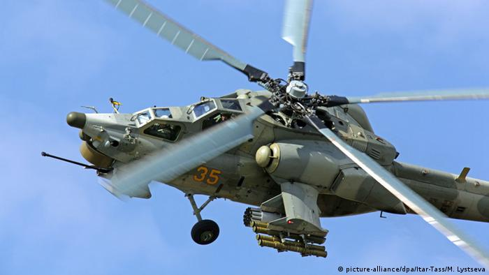 Russian Mi-28N Night Hunter helicopter