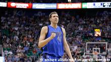 NBA Basketball Utah Jazz - Dallas Mavericks Dirk Nowitzki