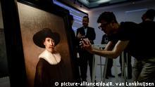 Amsterdam Enthüllung Gemälde The Next Rembrandt aus dem 3D Drucker