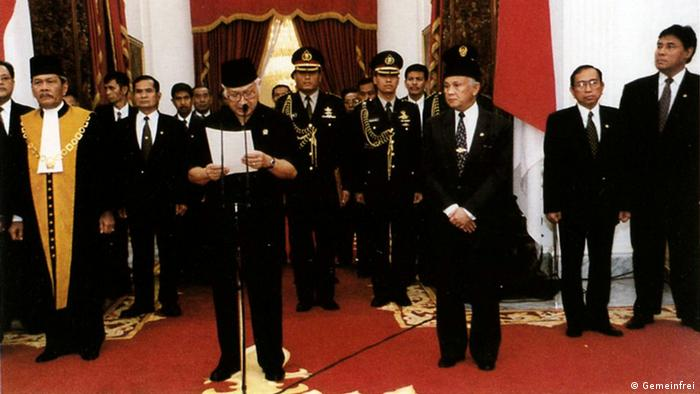 Symbolbild Unabhängigkeitskriegs Osttimors gegen Indonesien in 1998