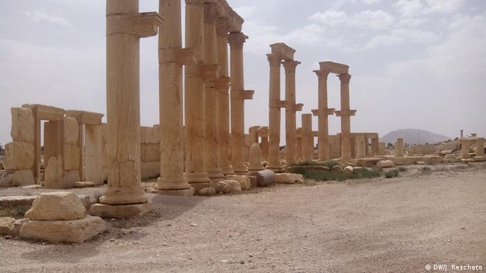 Antički spomenici u Palmiri u Siriji