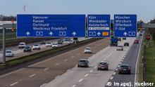 Trecho de autoestrada na Alemanha
