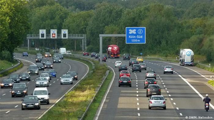 Deutschland Verkehr Blitzer (DW/M. Nelioubin)
