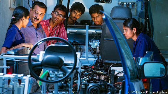 TÜV Rheinland Indien Ausbildungszentrum
