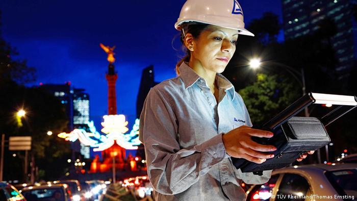 TÜV Rheinland Mexiko Messung Luftverschmutzung