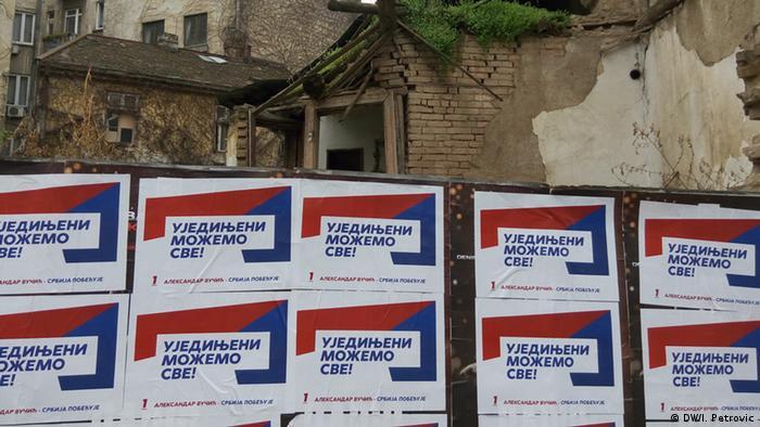 Serbien Wahlen