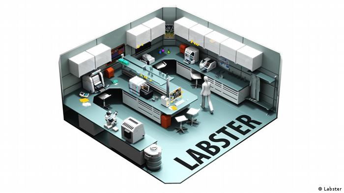 Science Game Labster: CSI Forensics Lab Copyright: Labster