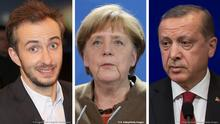 Bild-Kombo Böhmermann Merkel Erdogan