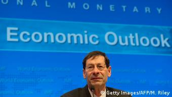 IWF Wachstumsprognose Maurice Obstfeld (Foto: Getty Images/AFP/M. Riley)