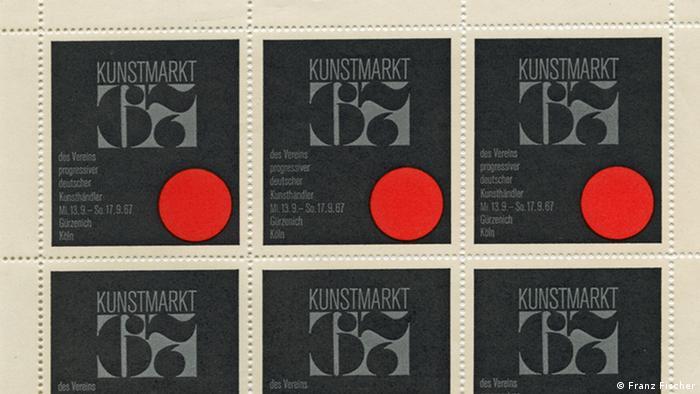 Stamps, Kunstmarkt 67. Copyright: Franz Fischer