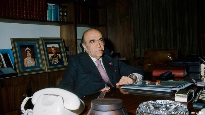 Amir Abbas Hoveyda (picture-alliance/dpa)