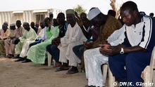 Nigeria Väter beten um die Rückkehr ihrer entführten Töchter in Chibok