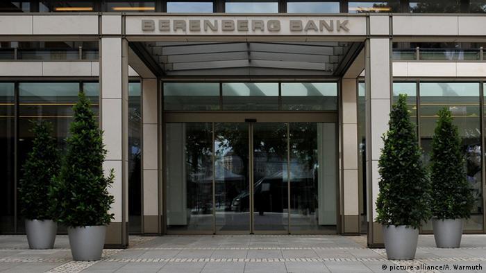 Deutschland Bankhaus der Berenberg Bank in Hamburg