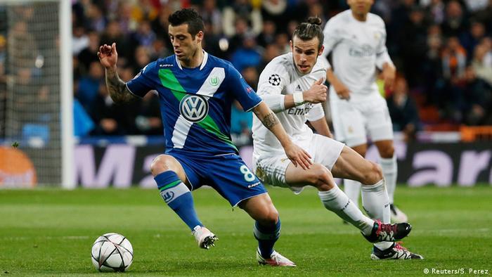 Матч футбол реал вольфсбург