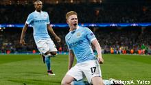 Fußball Champions League Manchester City v Paris St Germain Kevin De Bruyne (Reuters/A. Yates)