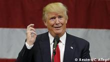 USA Vorwahlen Donald Trump macht kluges Gesicht