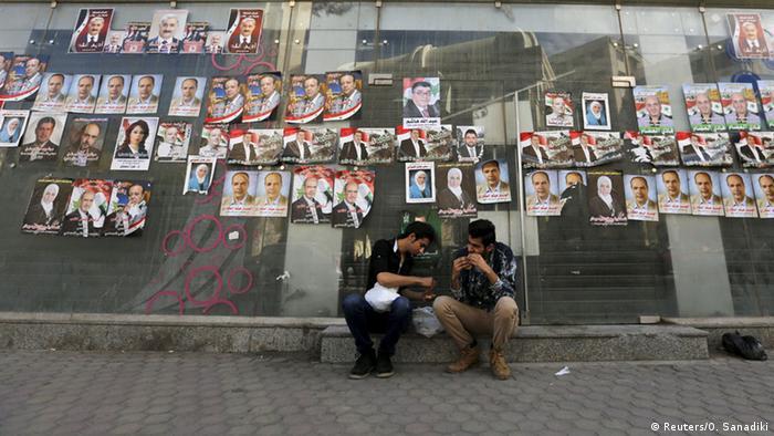 Syrien Parlamentswahlen Wahlplakate