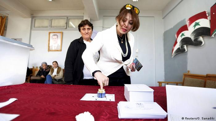 На выборах в Сирии