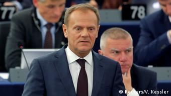 O επικεφαλής του Ευρωπαϊκού Συμβουλίου Ντόναλντ Τουσκ προειδοποίησε εκ νέου για κατάρρευση της ζώνης Σένγκεν