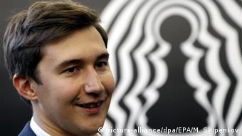 Sergej Karjakin hat das WM-Kandidatenturnier im März gewonnen (Foto: picture-alliance/dpa/EPA/M. Shipenkov)
