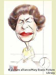 Queen Elizabeth II. Karikatur (Foto: picture alliance/Mary Evans Picture Library)