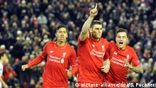James Milner Philippe Coutinho Liverpool FC FC Augsburg England
