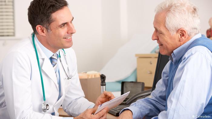 Arzt Patient (Colourbox)