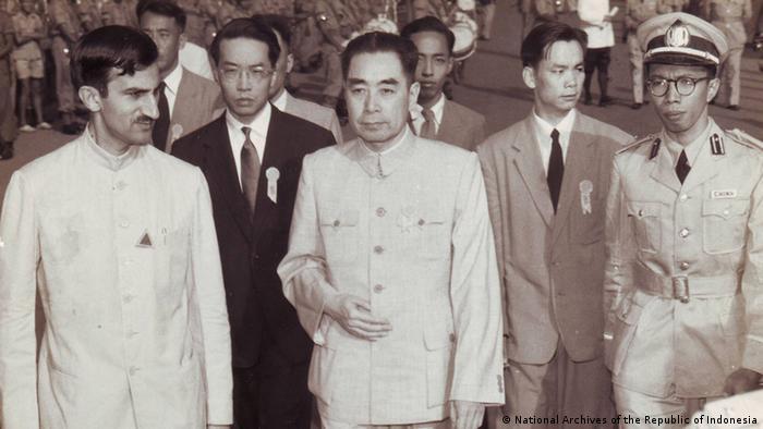 Indonesien Bandung Asien-Afrika Konferenz 1955 Chou En La