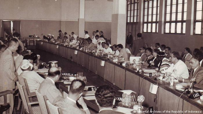 Indonesien Bandung Asien-Afrika Konferenz 1955