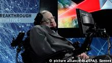 USA Stephen Hawking in New York