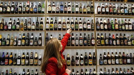 Deutschland 5000 verschiedene Bierflaschen in Berlin