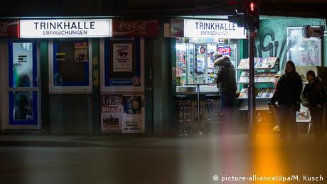 Deutschland Trinkhalle im Ruhrgebiet