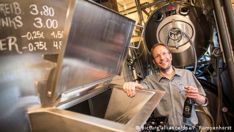 Deutschland Brauerei Braustil in Frankfurt am Main