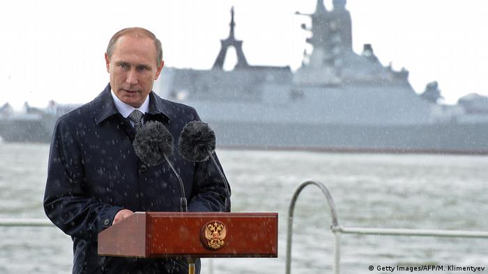 Putin in Kaliningrad