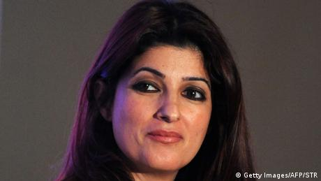 Indien Bollywood-Schauspielerin Twinkle Khanna in Mumbai (Getty Images/AFP/STR)