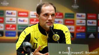 PK Thomas Tuchel von BVB (Getty Images/C. Brunskill)