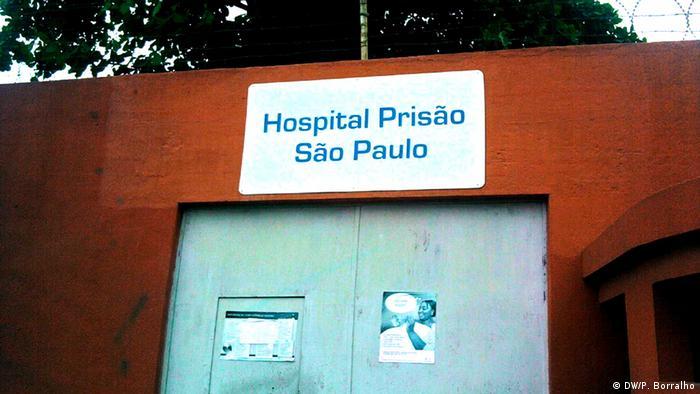 Angola Gefängnis in Luanda (DW/P. Borralho)