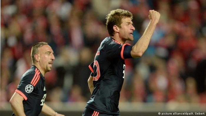 SL Benfica vs. FC Bayern Muenchen