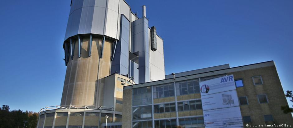 Reator de testes da instalação Jülich Research Center, no estado alemão da Renânia do Norte-Vestfália