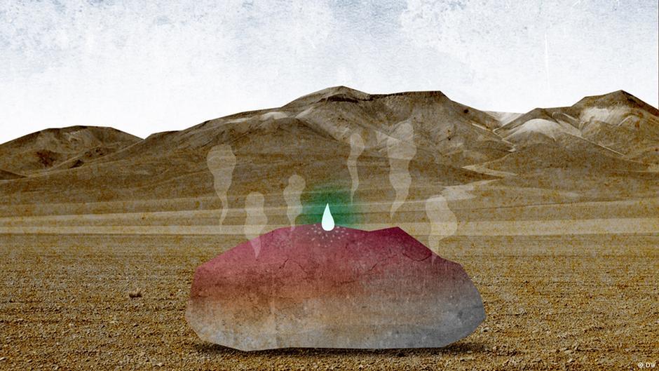Ein Tropfen auf dem heißen Stein